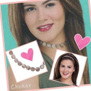 Mother of Pearl Choker/Headband/Anklet